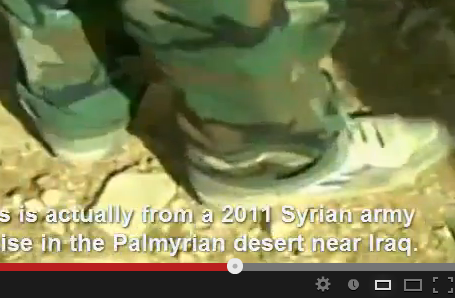 sneakers in fake scud missile syria