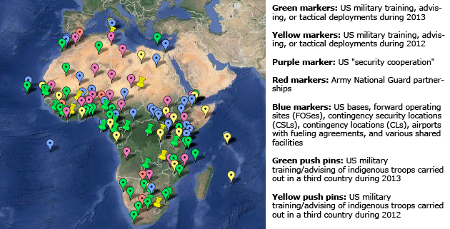 Africa US MilitaryMapLegend630