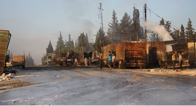 syria-aid-burnt-trucks